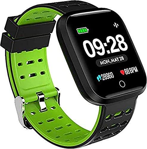 Smartwatch, Quadratisch, Grün