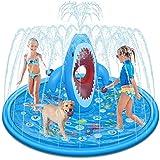 Tobeape Large Splash Pad für Kinder, Sprinkler Play Matte Outdoor Aufblasbare Garten...