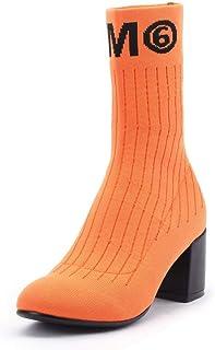 BalaMasa Womens Nubuck Warm Lining Logos Urethane Boots ABM13400
