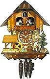 Horloge coucou de la Forêt Noire (originale) - Certifiée - Maison - Musique - 1 jour - Mécanique - Horloge coucou