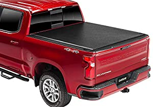 "Gator ETX Soft Roll Up Truck Bed Tonneau Cover | 137245 | Fits 2019 - 2020 New Body Style GMC Sierra 1500 & Chevrolet Silverado 1500 5'8"" Bed (Will Not Fit Carbon Pro Bed) Bed 