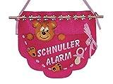 Petra's Bastel News Bastelset, Wandtasche Schnuller-Alarm, Filz, pink, 22cm