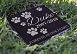 Memorial Pet Headstone - Loyal Companion, Dog and Cat Personalized...