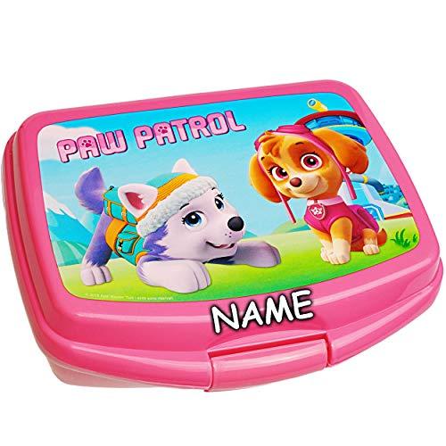 alles-meine.de GmbH Lunchbox / Brotdose -  Paw Patrol - Hunde  - inkl. Name - BPA frei - Brotbüchse Küche...