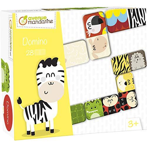 Domino animaux et textures - 42764O