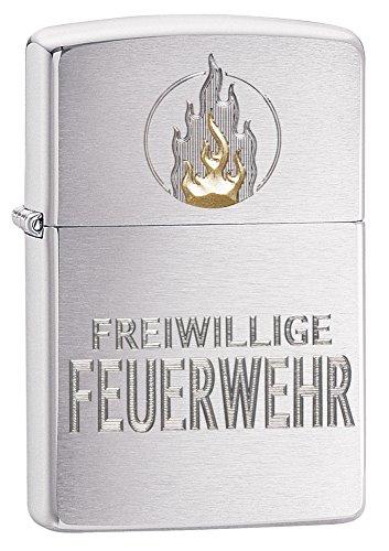 Zippo Feuerzeug, Messing, Silber, one Size
