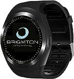 Brigmton BWATCH-BT7 1.3' IPS Móvil Negro Reloj Inteligente - Relojes Inteligentes (3,3 cm (1.3'),...