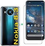 tomaxx Schutzhülle für Nokia 8.3 5G + PANZERGLAS Case