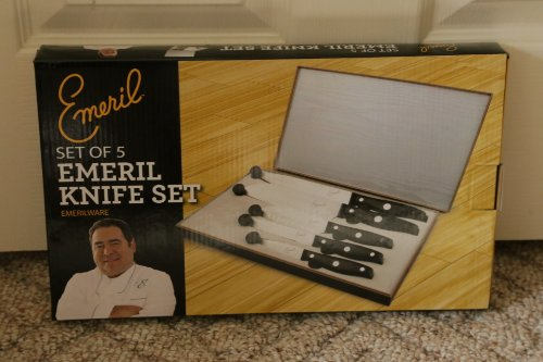 Emeril Cutlery 5-piece Steel Knife...