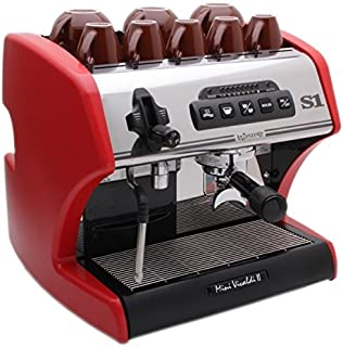 La Spaziale Mini Vivaldi ii Espresso Machine (Red)