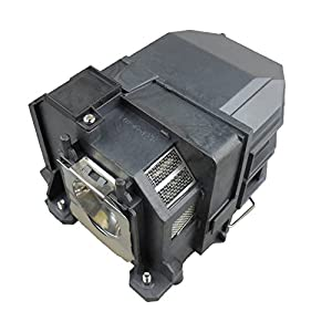 Supermait EP78 Replacement Projector Lamp with Housing, Compatible with Elplp78, Fit for EB-945 / EB-955W / EB-965 / EB-98 / EB-S17 / EB-S18 / EB-SXW03 / EB-SXW18 / EB-W18 / EB-W22