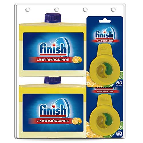 Finish Limpiamáquinas líquido para lavavajillas