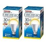 東芝ライテック LED電球5.6W30W形電球色 LDA6L‐H