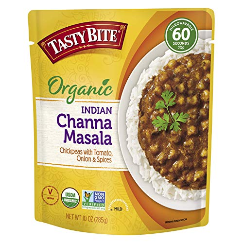 Tasty Bite Indian Channa Masala, Microwaveable Ready to Eat Entr