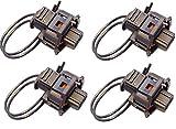 Twowinds - 1928403874 Lote 4 x Kit reparación conector inyector PICASSO XSARA 306 406 FOCUS LAGUNA SCENIC