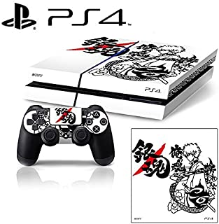 [PS4] Gin Tama Whole Body VINYL SKIN STICKER DECAL COVER for PS4 Playstation 4 System Console and Controllers by Ci-Yu-Onl...