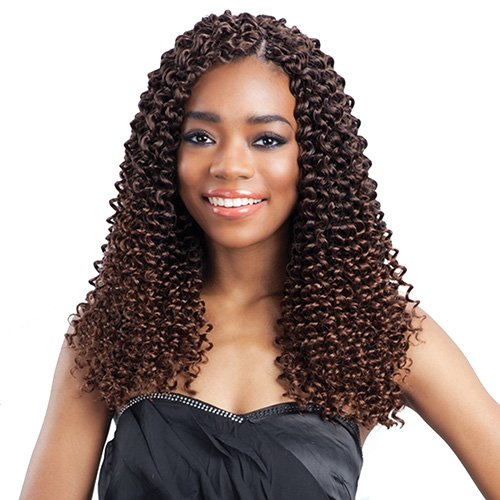 FreeTress Synthetic Hair Crochet Braids Water Bulk Quantity limited Limited price sale Wave 4-P 12