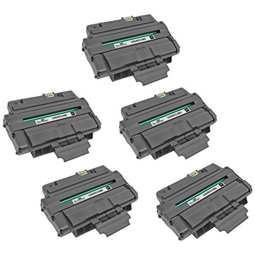 Speedy Inks Compatible Toner Cartridge Replacement for Xerox 3210/3220 106R01486 (Black, 5-Pack)