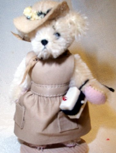 "Muffy Vanderbear Mohair 3"" Miniature Safari ""Out of it in Africa"" by North American Bear Co. #5824"