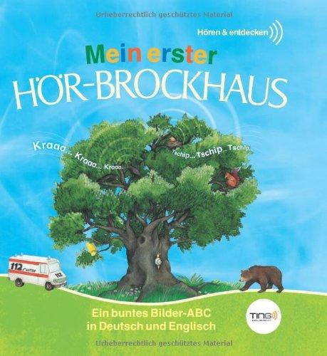 TING Mein erster Hör-Brockhaus: Ein buntes Bilder-ABC in Deutsch und Englisch