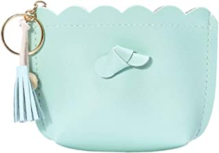 11.5x9.5cm lona beige bigboba creativo fresco Monedero lienzo cartera moneda bolsa bolsa Holder bolsa de almacenamiento Tama/ño peque/ño para las mujeres ni/ñas