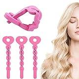 Schaumstoff Haar Lockenwickler 18 Stück Flexibel Schwamm Haar Rollen Lockenwickler über Nacht für DIY Haar,Damen und Mädchen