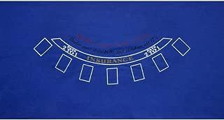 GSE Games & Sports Expert 36x72 Blackjack Casino Tabletop Felt Layout Mat
