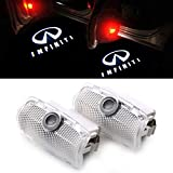 Car Door Logo Projector Welcome Light Ghost Shadow Lights LED Logo Lighting No Drill Type ...