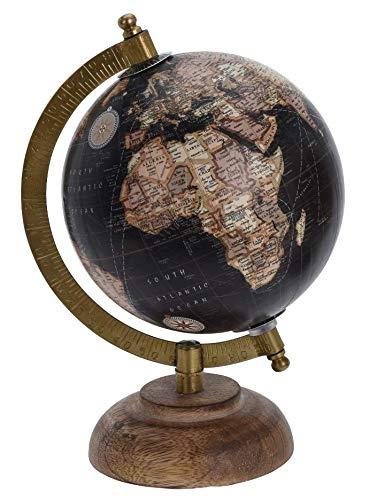 Meinposten Globus Dekoglobus Weltkugel Miniglobus Miniweltkugel Erde Welt Erdkugel H 20 cm (Modell 3)