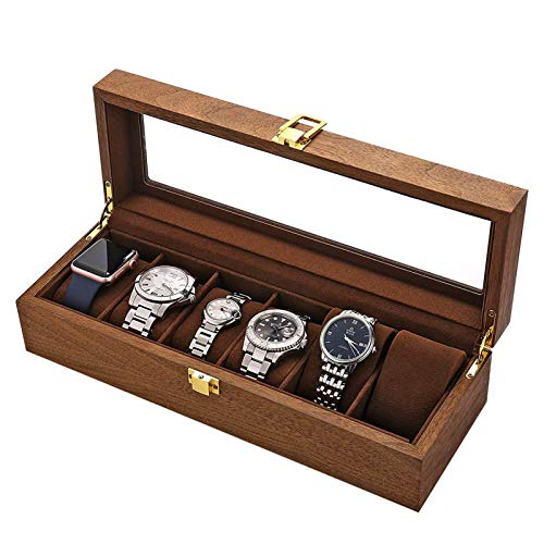 XYJNN Caja Relojes Hombre Accesorios para Relojes Caja De Reloj De 2...