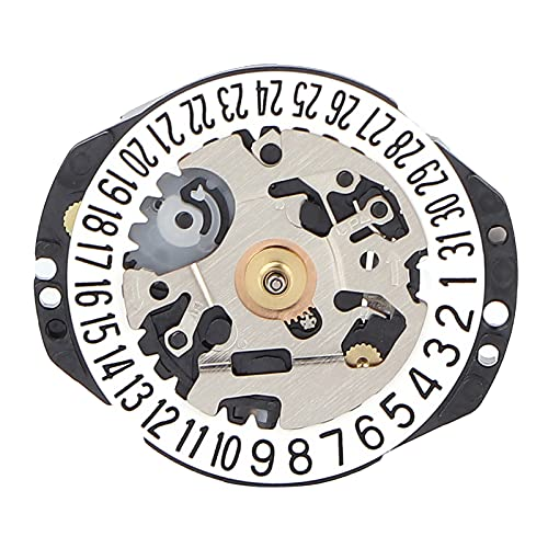 Pieza De Repuesto De Movimiento De Reloj, Movimiento De Cuarzo Preciso...