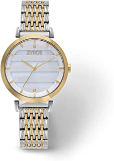 zyros Wristwatch for Women, Metal, zAS013L060629