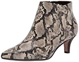 Clarks Women's Linvale Sea Ankle Boot, Taupe Snake Synthetic, 9 Wide