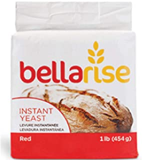 Sponsored Ad - Bellarise (Red) Instant Dry Yeast - 1 LB Fast Acting Instant Yeast for Bread