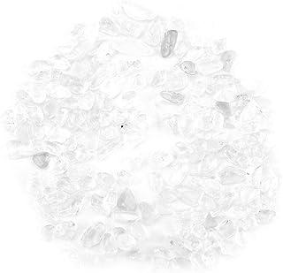 Wifehelper La Pierre dégringolée enfonce des Petits Paquets en Cristal 100g de Quartz de Cristal Naturel écrasé en Cristal...