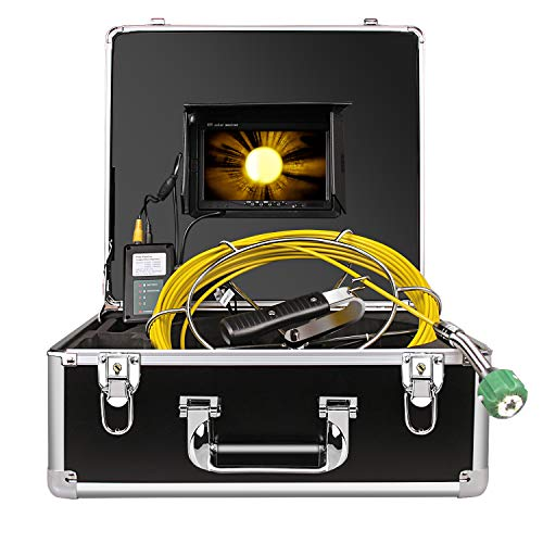 Sewer Camera, Pipe Pipeline Inspection Waterproof IP68 Endoscope...