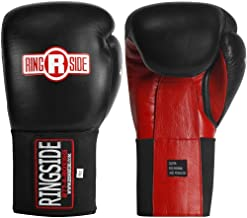 Ringside Limited Edition IMF Tech Boxing Training Sparring Gloves, 16-Ounce, Black/Red
