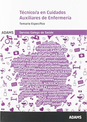 Temario Específico Técnico/a en Cuidados Auxiliares de Enfermería Servizo Galego de Saúde