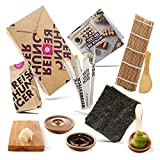 Reishunger Sushi Einsteiger Box inkl. Rezeptkarte - Komplett-Set mit original...