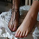 Fußmodellsimulation Fuß, Mädchen Fußmodell Silikon Gepolsterte Schuhe, Socken, Sandalen,...