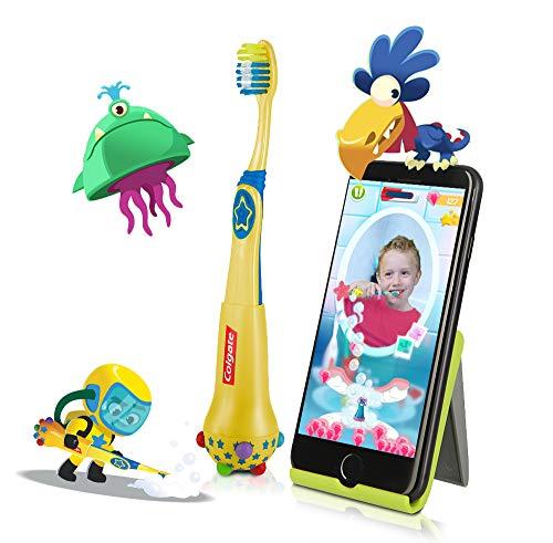 Colgate Magik Smart Toothbrush for Kids, Kids Toothbrush Timer with Fun Brushing Games