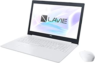 NEC 15.6型 ノートパソコン LAVIE Note Standard NS600/KAシリーズ カームホワイトLAVIE 2018年 夏モデル[Core i7/メモリ 4GB/HDD 1TB/Office H&B 2016] PC-NS6...