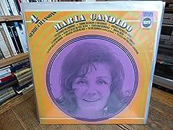Maria Candido - série chansons 4 - les cloches de Lisbonne - disque triumph records 2472 004