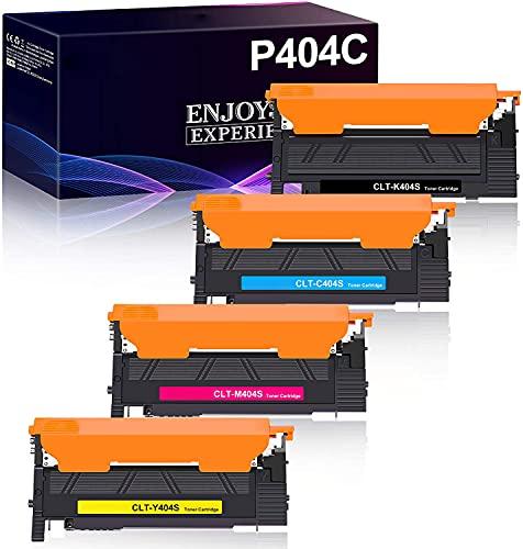 Zambrero Compatibile CLT-P404C CLT-404S Cartuccia Toner per Samsung CLT-K404S CLT-C404S CLT-Y404S CLT-M404S per Samsung Xpress SL C480FW C430W C430 C480W C480 C480FN C483W C432 (Confezione da 4)