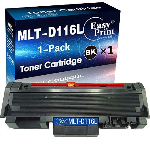 EASYPRINT Compatible D116L MLT-D116L Toner Cartridge MLTD116L 116L Used for Samsung Xpress SL-M2835DW SL-M2825DW SL-M2875FW SL-M2885FW SL-2625D Wireless (1x Black)