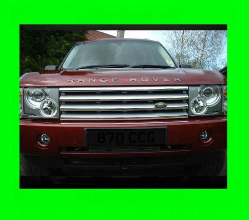 312 Motoring Chrome Grille Grill Kit for Range Rover HSE 2003-2010 03 04 05 06 07 08 09 10 2003 2004 2005 2006 2007 2008 2009 Supercharged SC