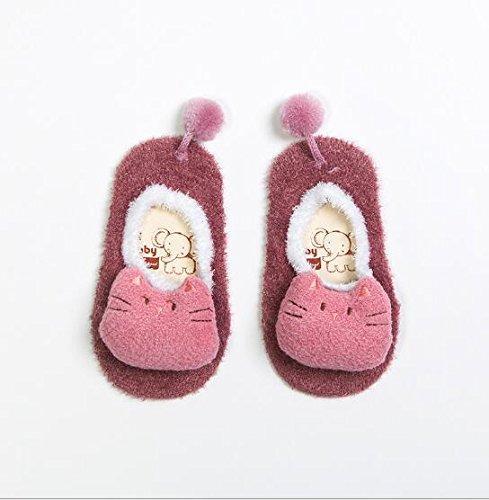 Sophisticat Calcetines de piso de Navidad de Algodón Antideslizante lindo bebé Otoño/Invierno