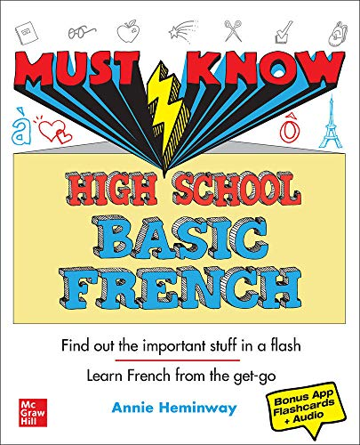 Price comparison product image Must Know High School Basic French