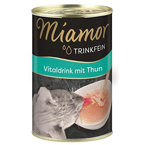 Miamor Trinkfein Vitaldrink mit Thun | 24x 135ml für Katzen