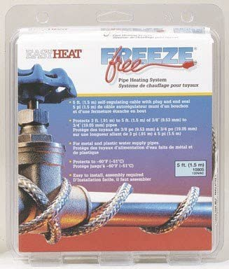 Freeze Free Pipe Heating System Super special price Max 72% OFF '